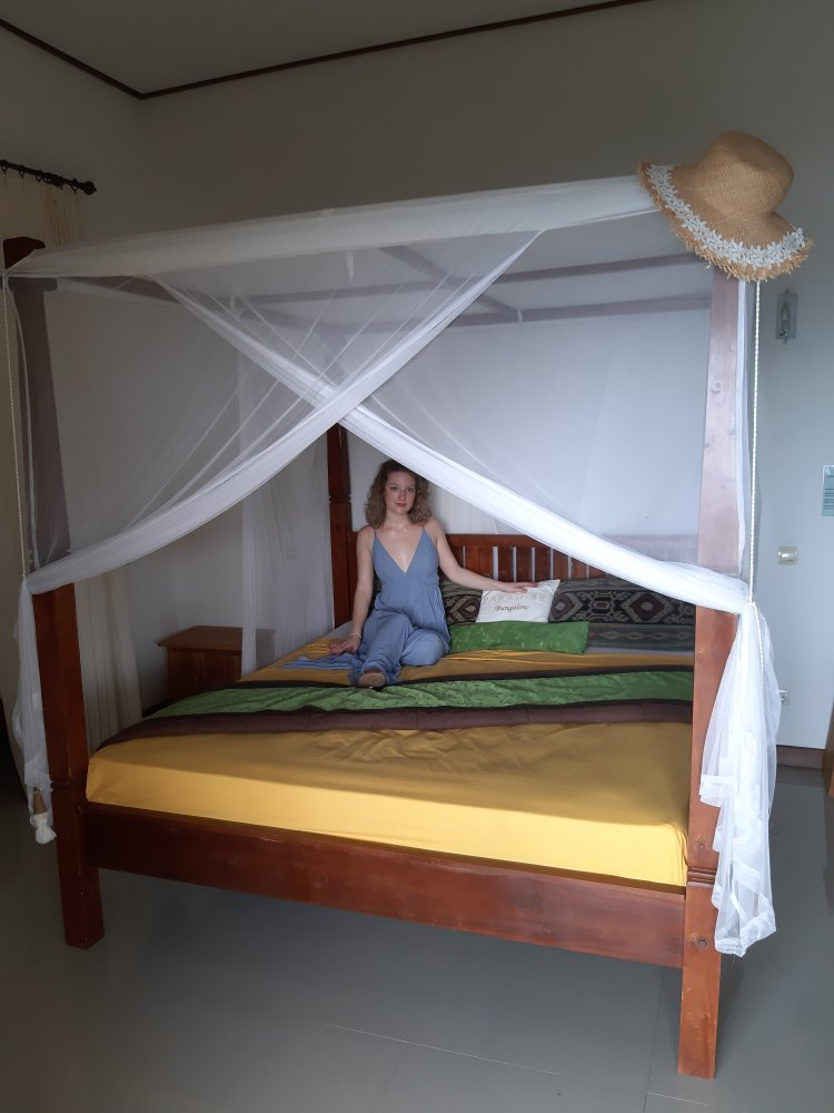 Bedroom paradise bungalows bali in amed