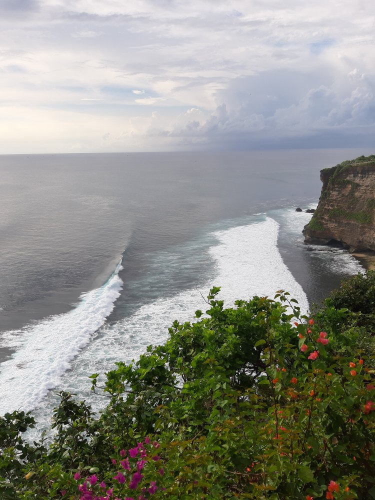 View from Uluwatu temple Bali