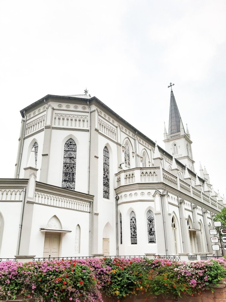 Chijmes church in singapore