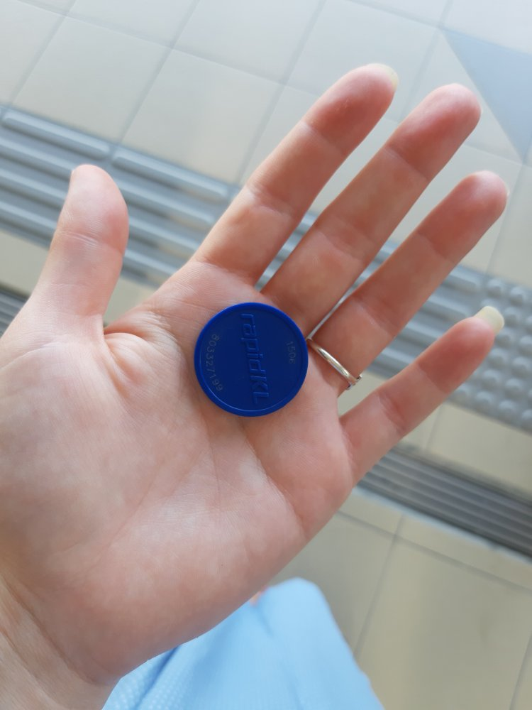 Coin instead of ticket for Kuala Lumpur train
